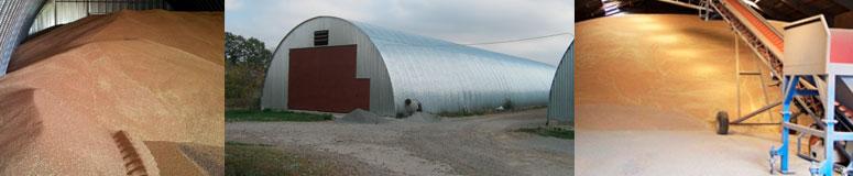 Быстровозводимые металлические зернохранилища